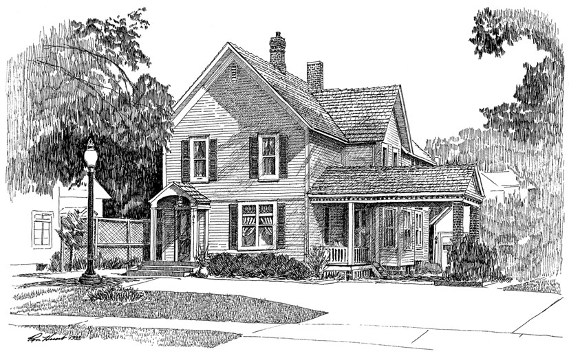 Line Drawing House Image : Tudor house drawing images frompo