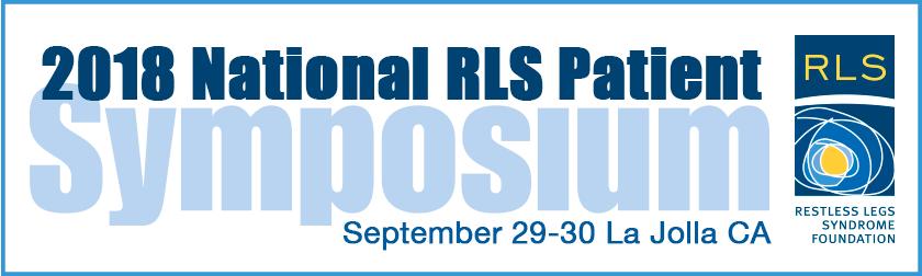 National RLS Patient Symposium