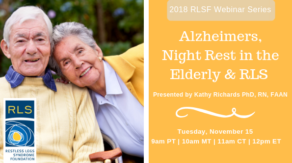 Alzheimers, Elderly and RLS