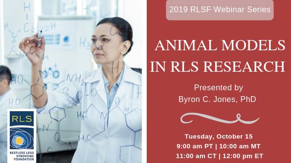 Animal Models in RLS Research