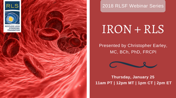 Iron and RLS Webinar