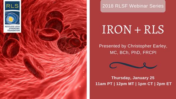 Iron and RLS Webinar