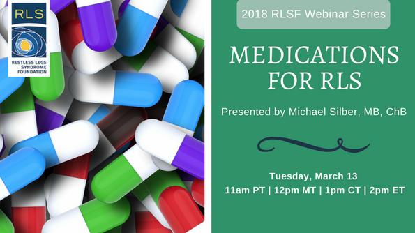 Medications for RLS