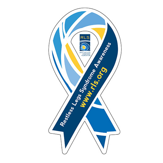 RLS Awareness Ribbon
